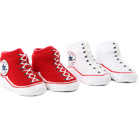 CONVERSE Booties 0-9 months (Red