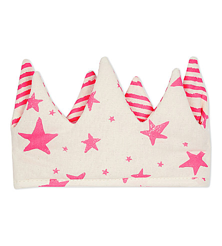 NOE & ZOE Cotton crown (Pink+star/stripe