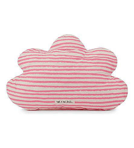 NOE & ZOE Little Cloud pillow (Pink+star/stripe