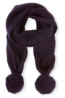 BELLE ENFANT Laurie pom pom scarf