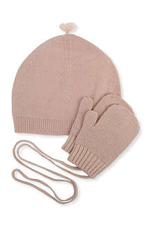 BELLE ENFANT Hat and mitten set 6-24 months