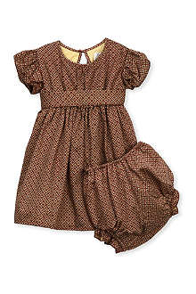 LIVLY Livly puff sleeve majken dress 0-24 months