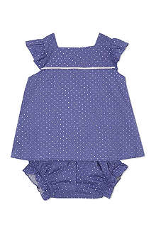 LIVLY Polka dot frill top and shorts 0-24 months