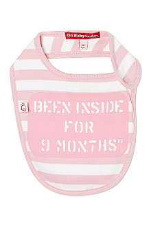 OH BABY LONDON Set of striped bibs