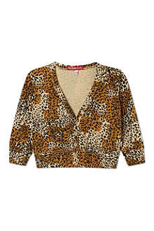 OH BABY LONDON Leopard print cardigan 6months- 3years