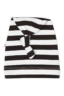 OH BABY LONDON Striped cotton beanies
