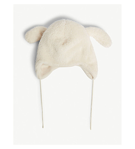 BARTS BV Rabbit faux-fur hat (Cream
