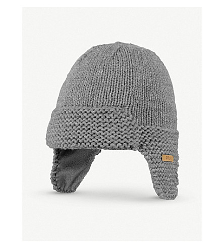 BARTS BV Yuma knitted trapper hat