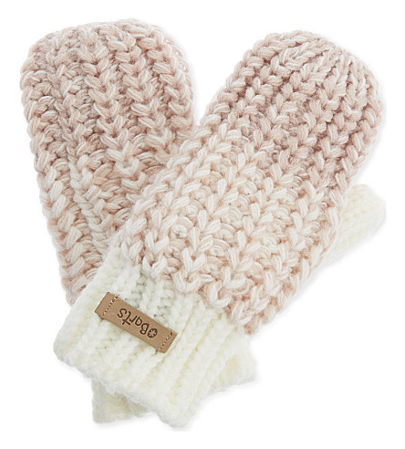 BARTS BV Stids knitted mittens (Cream