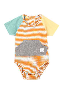 INDIKIDUAL Cotton striped body 3-24 months