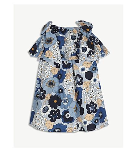 CHLOE Floral print cotton dress 6-36 months (Floral