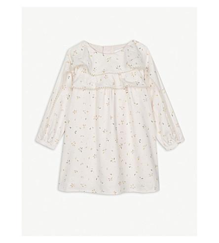 CHLOE 花卉印花工作服礼服 6-36 月 (象牙 + 打印