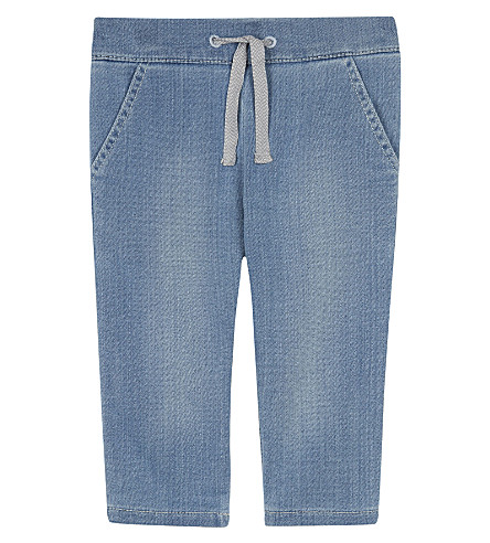 CHLOE Light wash denim jeggings 6-36 months (Denim+blue
