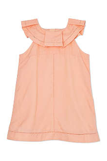 CHLOE Ruffle neck dress 3months-3years