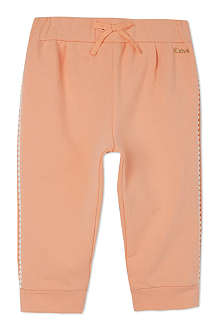 CHLOE Braid trim jogging bottoms 3-36 months