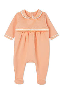 CHLOE Braid collar sleepsuit 1-6 months