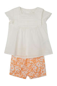 CHLOE Floral top and shorts set 3-36 months