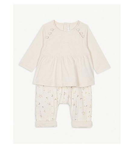 CHLOE Top and leggings set 3-18 months (Pink+print
