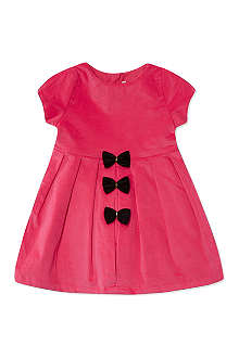 BILLIE BLUSH Velvet bow detail dress 3-18 months