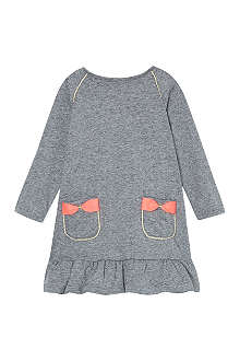 BILLIE BLUSH Bow pocket frilly dress 3-36 months