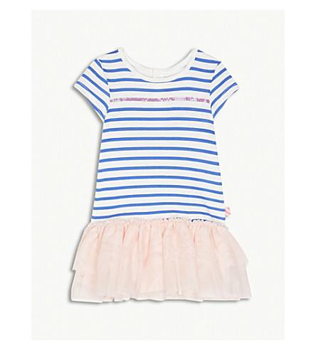 BILLIE BLUSH Striped cotton tutu hem dress 6-36 months (Multi
