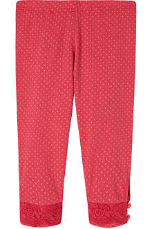 BILLIE BLUSH Polka dot leggings 3-36 months