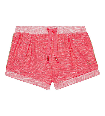 BILLIE BLUSH Cotton-blend shorts 6-36 months (Fuschia