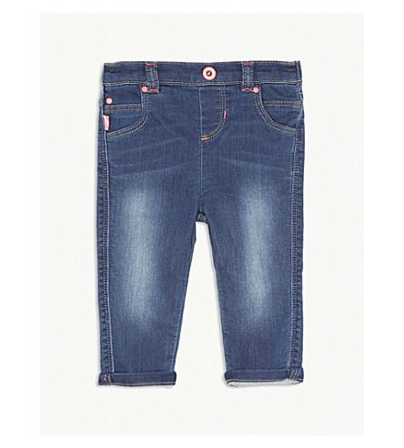BILLIE BLUSH Stretch-cotton denim jeans 6-36 months (Denim