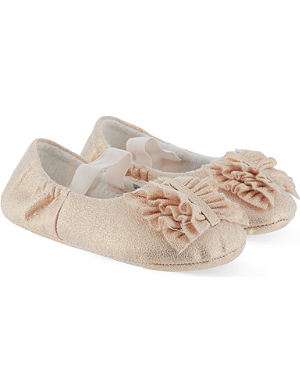 BILLIE BLUSH Bow ballerina shoes