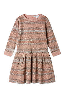 LITTLE MARC Lurex stripe dress 6-36 months