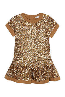 LITTLE MARC All-over sequin dress 3-36 months