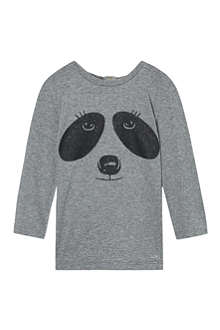 LITTLE MARC Panda print t-shirt 6-36 months