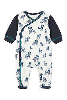 LITTLE MARC Printed sleepsuit 1-6 months