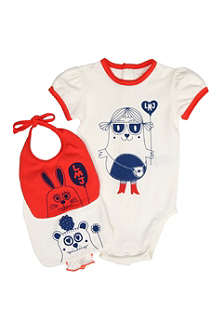 LITTLE MARC 3-piece set 1-9 months