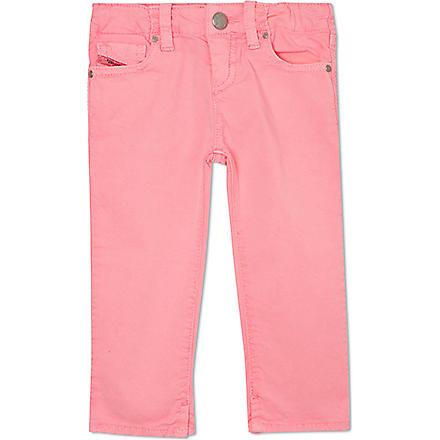 DIESEL Super Stretch jeans 3-36 months (Pink
