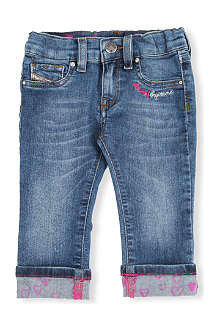 DIESEL Livier turn-up jeans 3 months-3 years