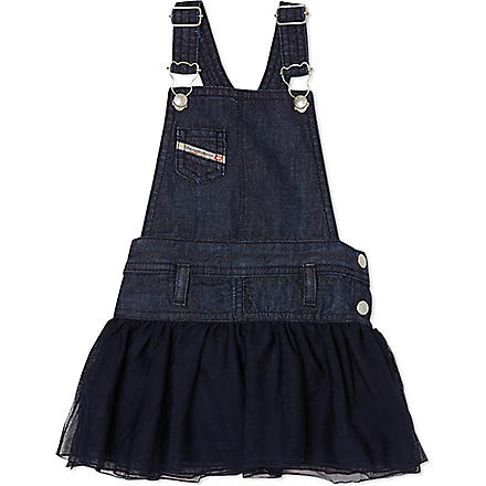 DIESEL Chambray denim dress 3-36 months (Blue