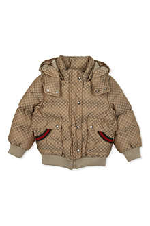 GUCCI Quilted jacket with hood 6-36 months