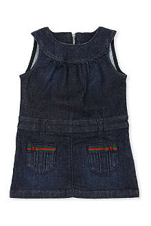 GUCCI Denim dress 3-36 months