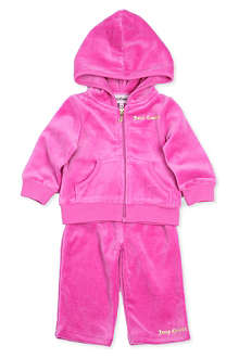 JUICY COUTURE Crown velour tracksuit 3-24 months