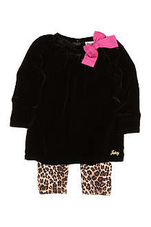 JUICY COUTURE Dress and legging set 3-24 months