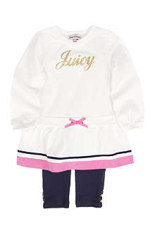 JUICY COUTURE Juicy dress and leggings set 3-24 months