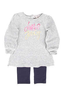 JUICY COUTURE Love Juicy dress and leggings set 3-24 months