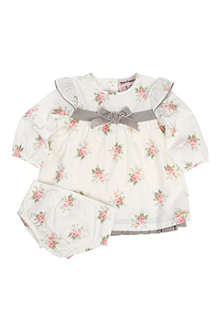 JUICY COUTURE Floral dress and briefs set 0-9 months