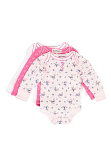 JUICY COUTURE Three-pack bodysuit set 0-9 months
