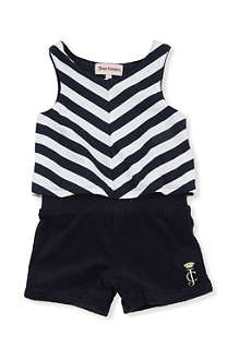 JUICY COUTURE Wide stripe romper 12 - 18 months