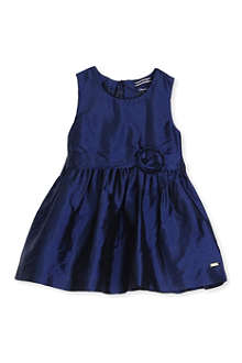 TOMMY HILFIGER Silk bow dress 6-24 months