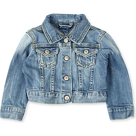 TOMMY HILFIGER Denim jacket 6-24 months (Blue