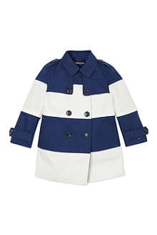 TOMMY HILFIGER Striped trench coat 6-36 months