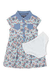 TOMMY HILFIGER Floral shirt dress 6-36 months